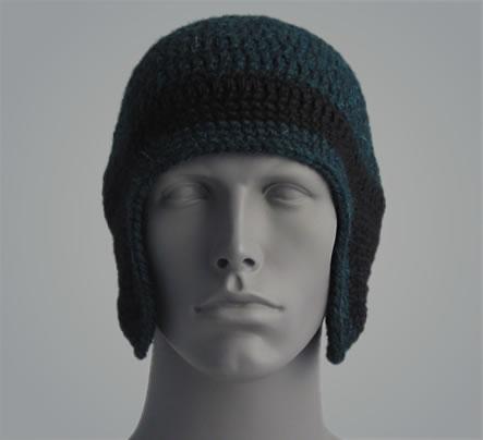 Crochet Helmet 001 by Cinnamon McCullum | AllegraNoir.com