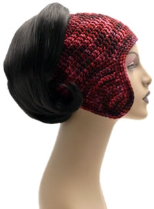 Crochet Helmet 002 by Cinnamon McCullum | AllegraNoir.com