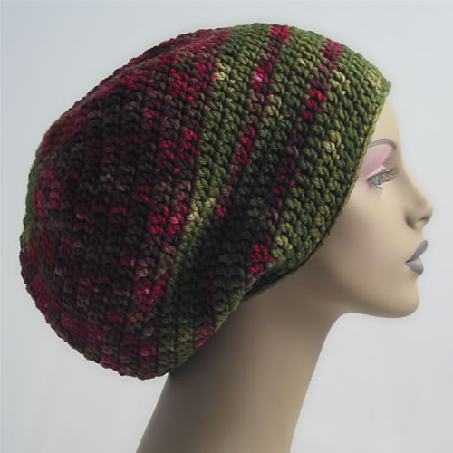 Crochet Dread Hat 002 by Cinnamon McCullum | AllegraNoir.com