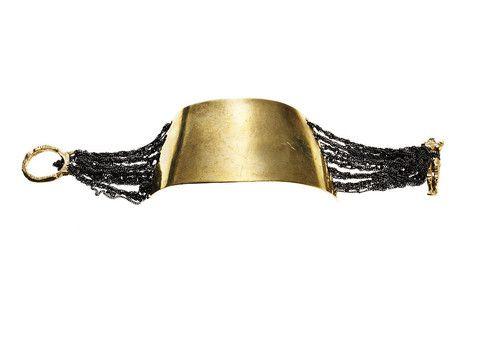 AllegraNoir.com | Arielle de Pinto Curved Tablet Bracelet
