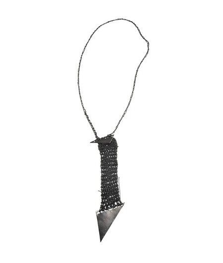 AllegraNoir.com | Arielle de Pinto Arrow Pendant Necklace