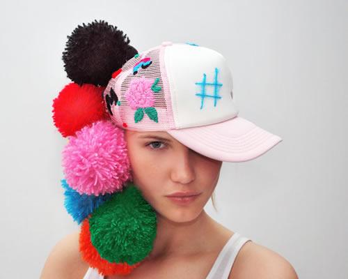 AllegraNoir.com - embroidered trucker hat by UTHA