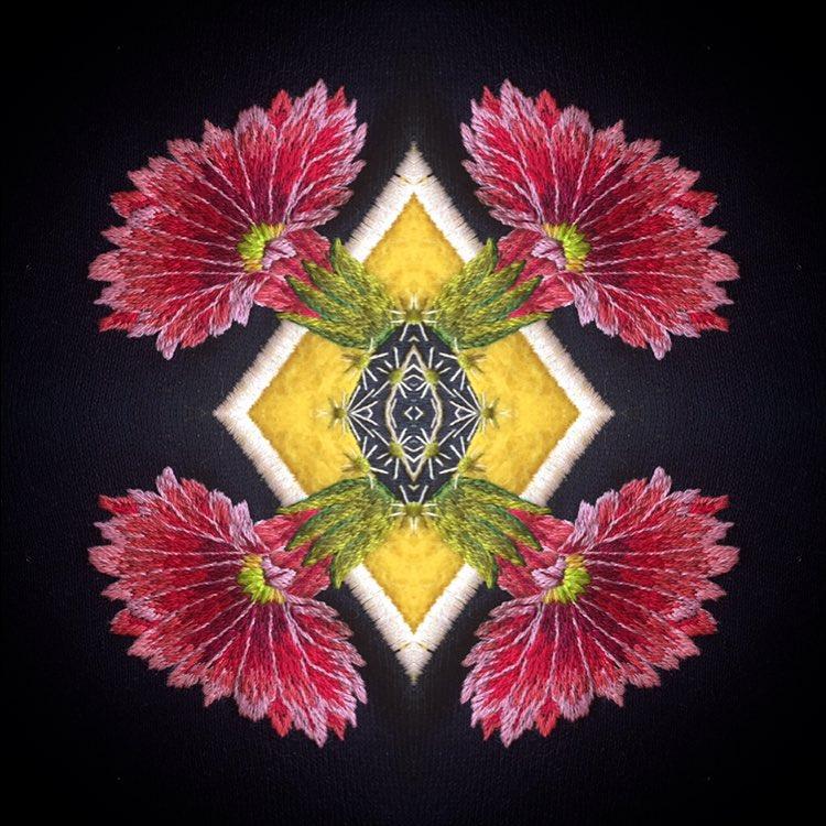 James Merry Embroidery | AllegraNoir.com