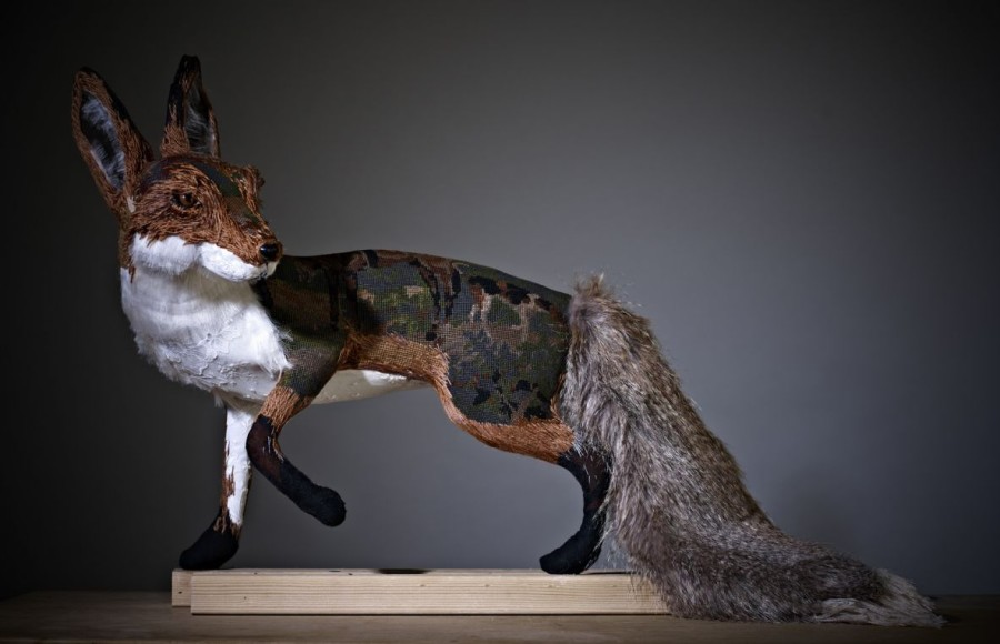 Textile Fox by Donya Coward | AllegraNoir.com