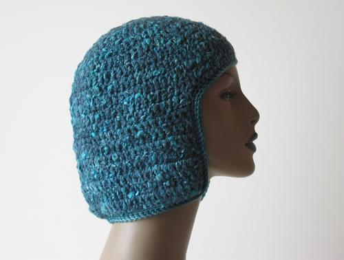 Crochet Helmet 004 by Cinnamon McCullum | AllegraNoir.com