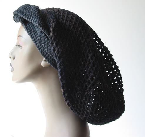 Crochet Dread Hat 003 by Cinnamon McCullum | AllegraNoir.com