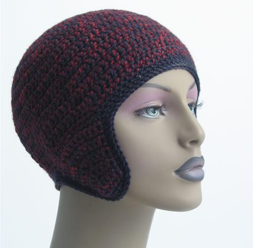 Crochet Helmet 003 by Cinnamon McCullum | AllegraNoir.com