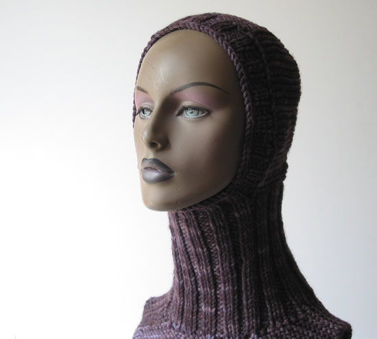 Knit Helmet Dickie by Cinnamon McCullum | AllegraNoir.com