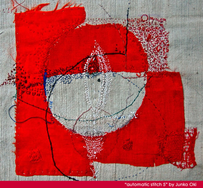 Stitch Work by Junko Oki | AllegraNoir.com