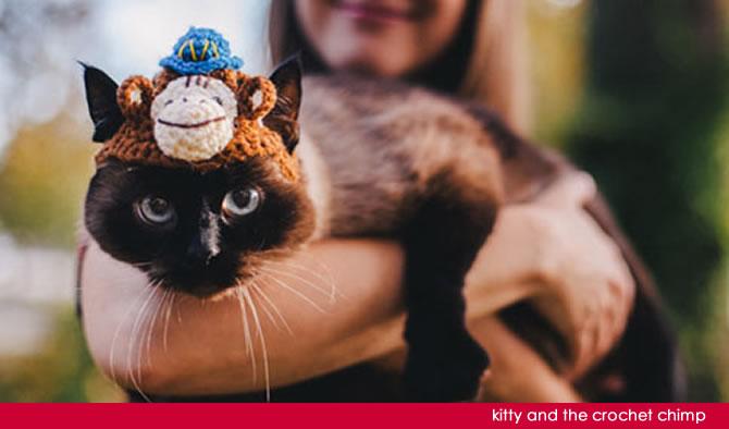 Crochet MailChimp Hats | AllegraNoir.com