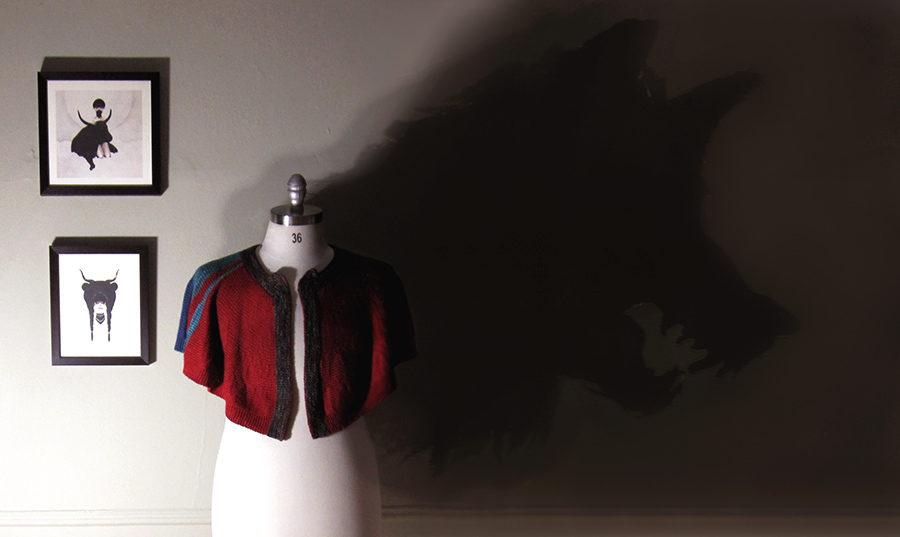 Prototype : Knitting Little Red All Grown Up | AllegraNoir.com